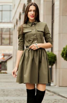 15 стильных платьев-рубашек и с чем их носить: территория моды...