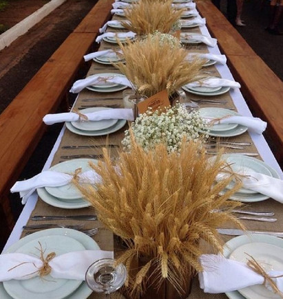Женщина залила колосья пшеницы водой… В мгновение ока она смастерила чудо из чудес!