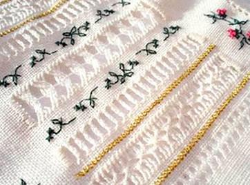 Мережка! Модная, красивая и уникальная вышивка...