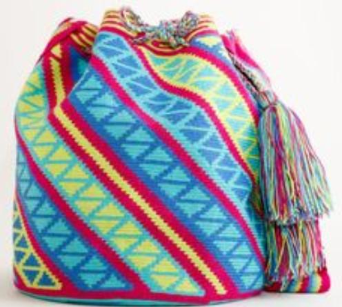 Колумбийская мочила: мастер-класс, схемы и идеи (Часть 2)