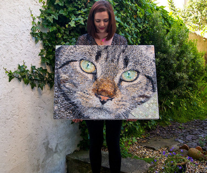 Сара Джейн Коннор – картины бисером...