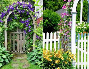 Дизайн входа в частный дом: 18 вариантов дизайна участка перед домом... Всё в жизни надо делать красиво!