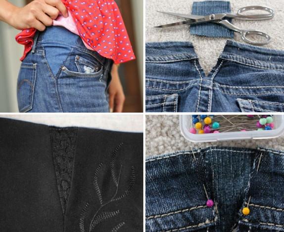 Как расширить одежду: варианты и идеи для реализации...