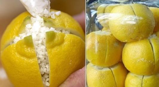 Когда она разрезала лимон и засыпала его солью, увидев результат — я сделала то же самое...