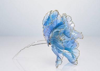 Изумительные украшения для волос от японского мастера Sakae...