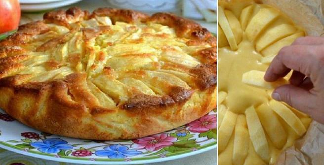 Деревенский яблочный пирог родом из Италии. Мягкое тесто, хрустящая корочка, начинка с кислинкой - всё, как я люблю!