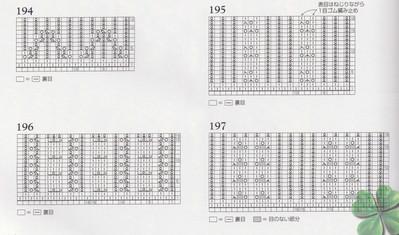 56 узоров спицами для оформления края изделия...