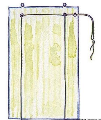 Рулонная штора своими руками - это очень просто и легко... Я как раз собираюсь их сделать для балкона.