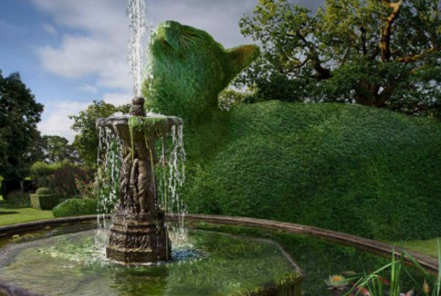 Здесь, деревья и кусты превращаются в котиков! Один из самых чудесных «садов» на планете (12 ФОТО)