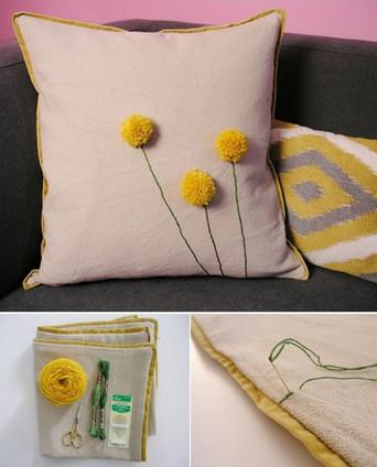 21 восхитительная идея создания декоративных подушек... Это под силу даже тем, кто не умеет шить!