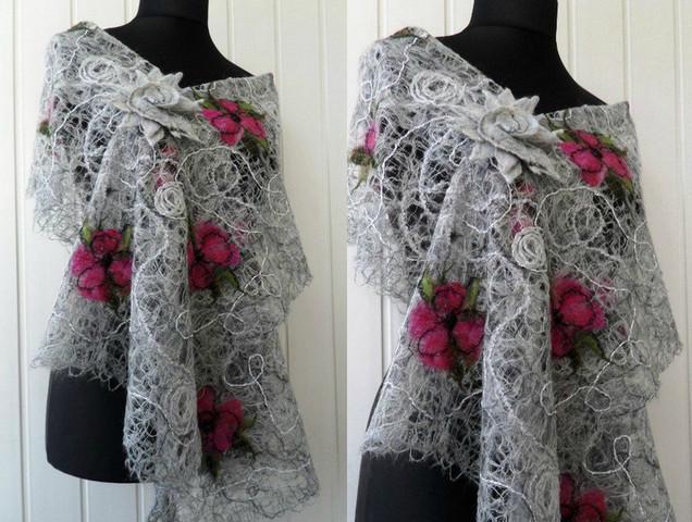 Сумасшедшая нитка: одежда в технике Crazy Wool... Получаются оригинальные, эксклюзивные вещи!