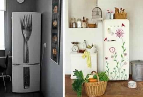 Как люди украшают свои холодильники... Интересные решения и идеи в фотографиях!