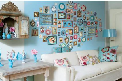 25 красивых идей как украсить стены в комнате... Забирайте на заметку!