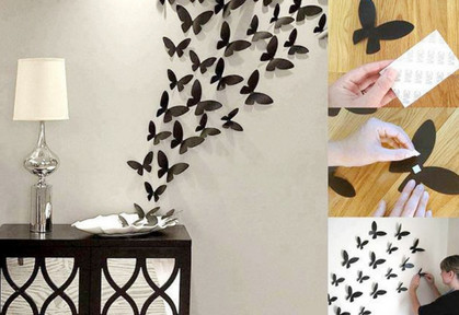 17 красивых идей как украсить стены в комнате... Cупер-идеи украшения стен в комнате!