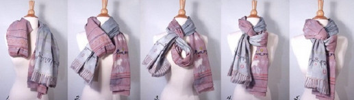 Шаль, платок, шарф… 10 идей, как завязать их, чтобы и грели, и выглядели красиво!