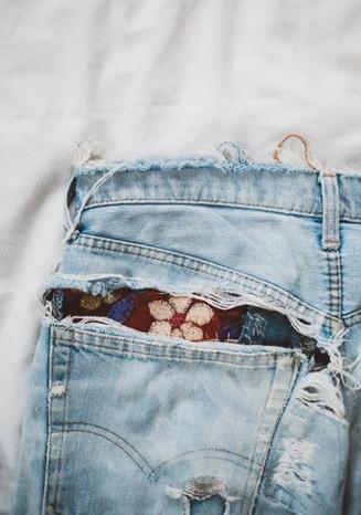 Бохо джинсы. 18 Отличных идей... Третьи — просто класс!