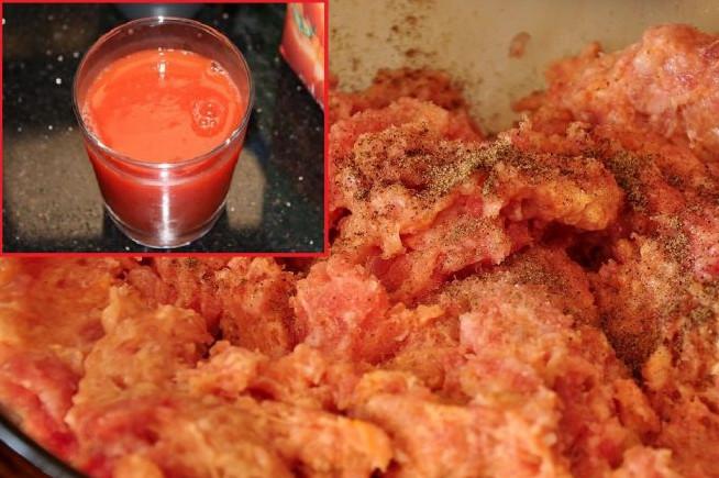 Зачем смешивать куриный фарш с томатным соком, и еще 4 лайфхака от опытной хозяйки