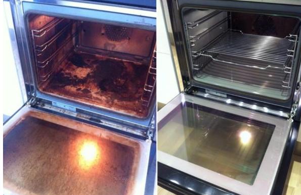 Наконец-то! Найден до смешного простой способ очистить духовку до блеска! Сколько приходилось