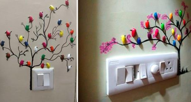 Как сделать фисташковых птичек для украшения стен... 16 примеров использования фисташковой скорлупы!