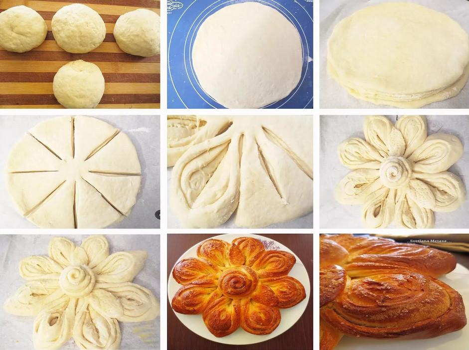 Украсить пирог из дрожжевого теста пошаговое для начинающих