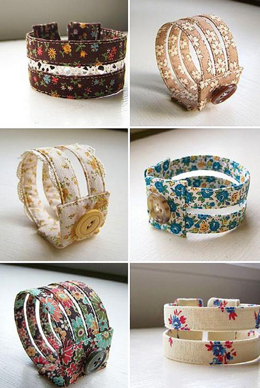 Украшения из швейной фурнитуры: бесконечное многообразие интересных идей...