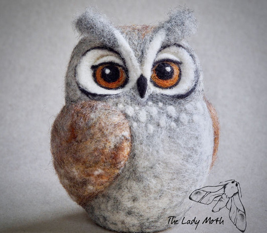 Дивные войлочные игрушки от художника-самоучки...