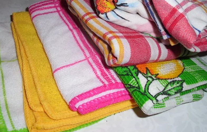 Теперь мои кухонные полотенца – даже лучше, чем новые. Свекровь считает, что я каждую неделю покупаю другие. А я ей свой секрет не скажу!