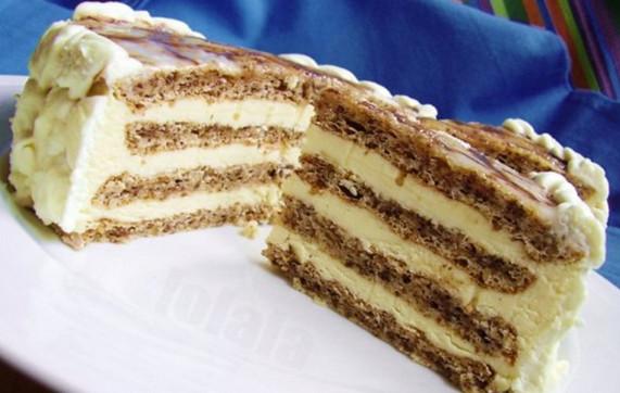 Первоклассный торт за 25 минут. Без выпечки!