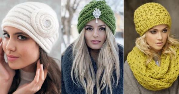Женские вязаные шапки сезона осень-2017... Советы стилистов по выбору актуальных моделей!