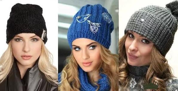 Женские вязаные шапки сезона этого сезона... Советы стилистов по выбору актуальных моделей!