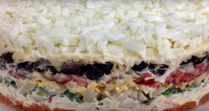 Самый вкусный и сытный салат «Добрый папа»...