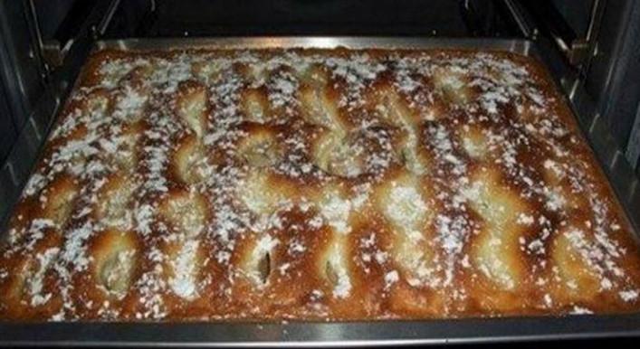 Пирог с яблоками, как пирожное! Это просто шедевр...