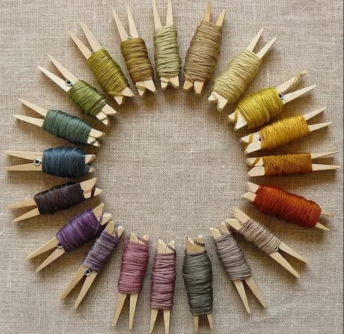 Маленькие хитрости для рукодельниц: идеи хранения крючков, спиц и иголок...