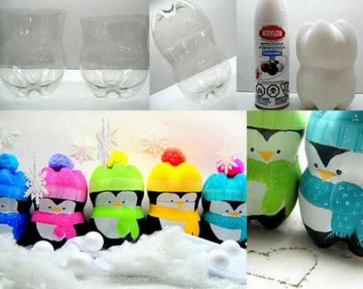 Никогда бы не подумала, что из простой пластиковой бутылки и шпагата может получиться… Готовимся к Новому году!