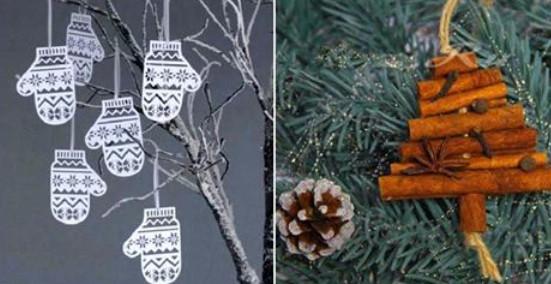 10 идей для новогоднего декора. Уют и новогоднее настроение гарантированно!