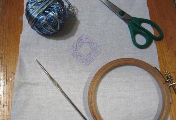 Вышивки с крючком 43