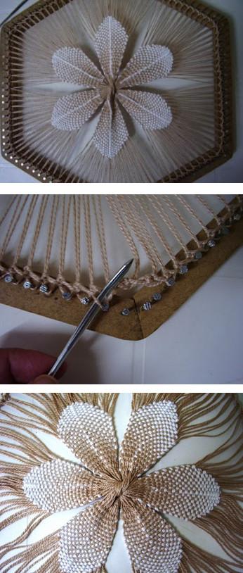 Невероятно красивый и объемный декор в технике тенерифе...