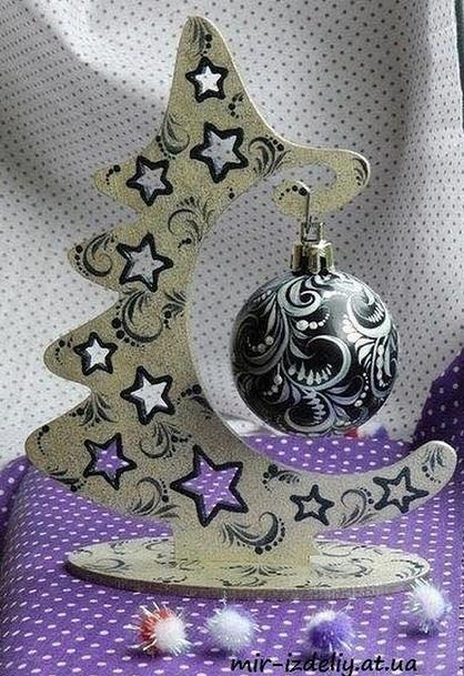 Оригинальная идея: новогоднее украшение за считанные минуты...
