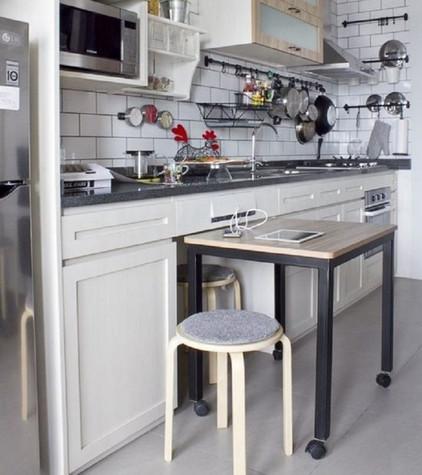 Дизайнерские решения для кухни, о которых нужно было знать еще вчера... Я в восторге!