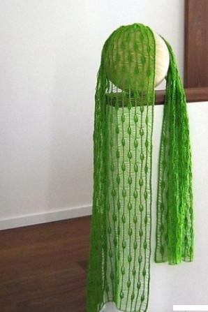 """Удивительно красивое вязание спицами узора """"Капли дождя""""..."""