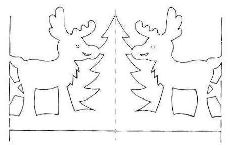 25 шаблонов для создания бумажных гирлянд...
