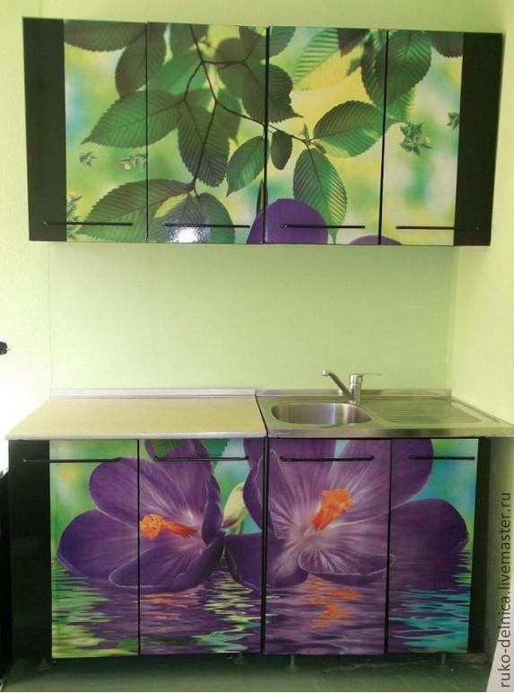 Кухня: Идеальное преображение и простое исполнение...