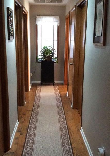 У меня в квартире был темный коридор, пока я не увидела эту идею... Потрясающе!