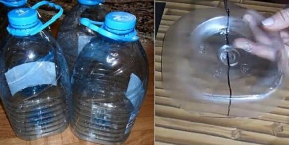 Сначала отрежь донышко пятилитровой бутылки, затем ее верхнюю часть, а потом возьми в руки газеты. Результат восхищает!
