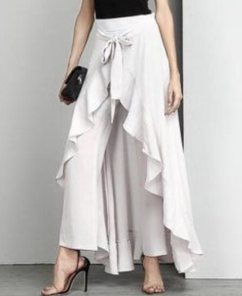 Эталон женственности, изящества и свободы: юбки палаццо на все случаи жизни...