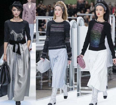 Стилисты говорят: «Чтобы быть в тренде в 2018 году, юбки и брюки сочетай с…»