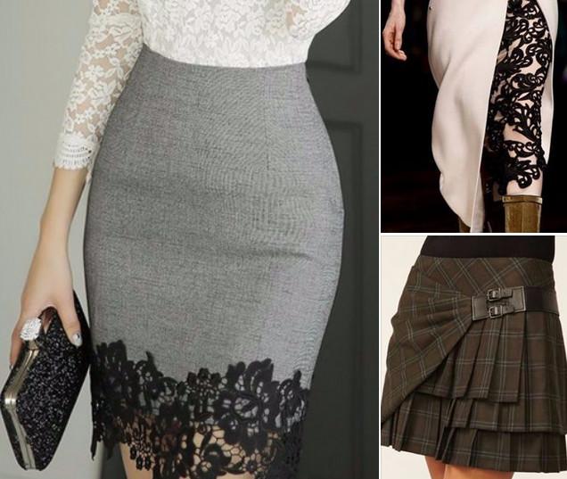 Интересные и очень красивые детали юбок...