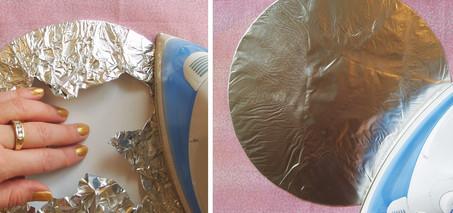 Лайфхак: работу с ворсистыми тканями облегчит полиэтилен...