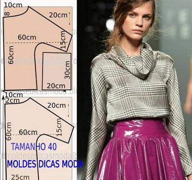 Моделирование: блузки, футболки...