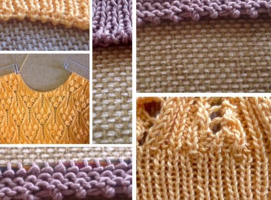 Как набрать петли для тонких и ажурных вещей при вязании на спицах...